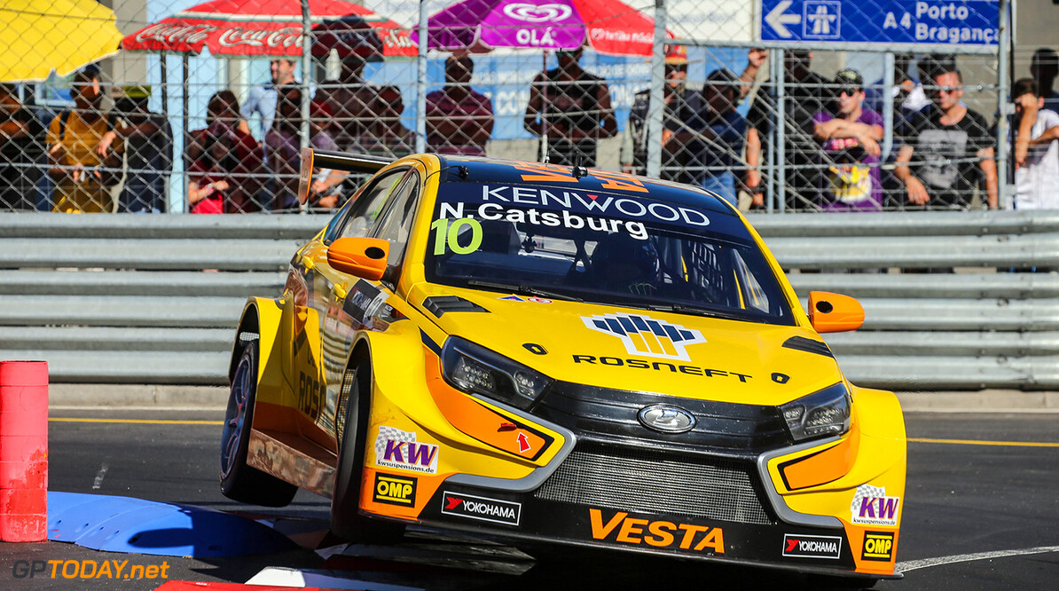 10 CATSBURG Nicky (ned) Lada Vesta team Lada Sport Rosneft action during the 2016 FIA WTCC World Touring Car Championship race of Portugal, Vila Real from July 24 to 26 - Photo Jorge Cunha / DPPI AUTO - WTCC PORTUGAL 2016 Jorge Cunha    Auto COURSE Motorsport championnat du monde circuit fia tourisme wtcc