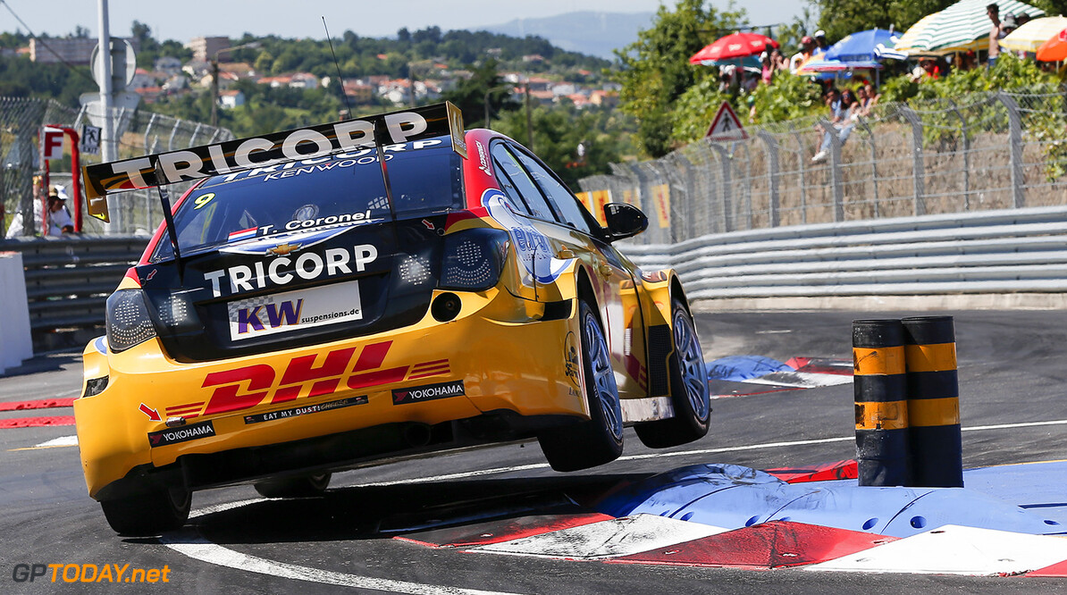 09 CORONEL Tom (ned) Chevrolet Cruze team Roal motorsport action during the 2016 FIA WTCC World Touring Car Championship race of Portugal, Vila Real from July 24 to 26 - Photo Alexandre Guillaumot / DPPI AUTO - WTCC PORTUGAL 2016 Alexandre Guillaumot Vila Real Portugal  Auto CHAMPIONNAT DU MONDE CIRCUIT COURSE FIA Motorsport TOURISME WTCC