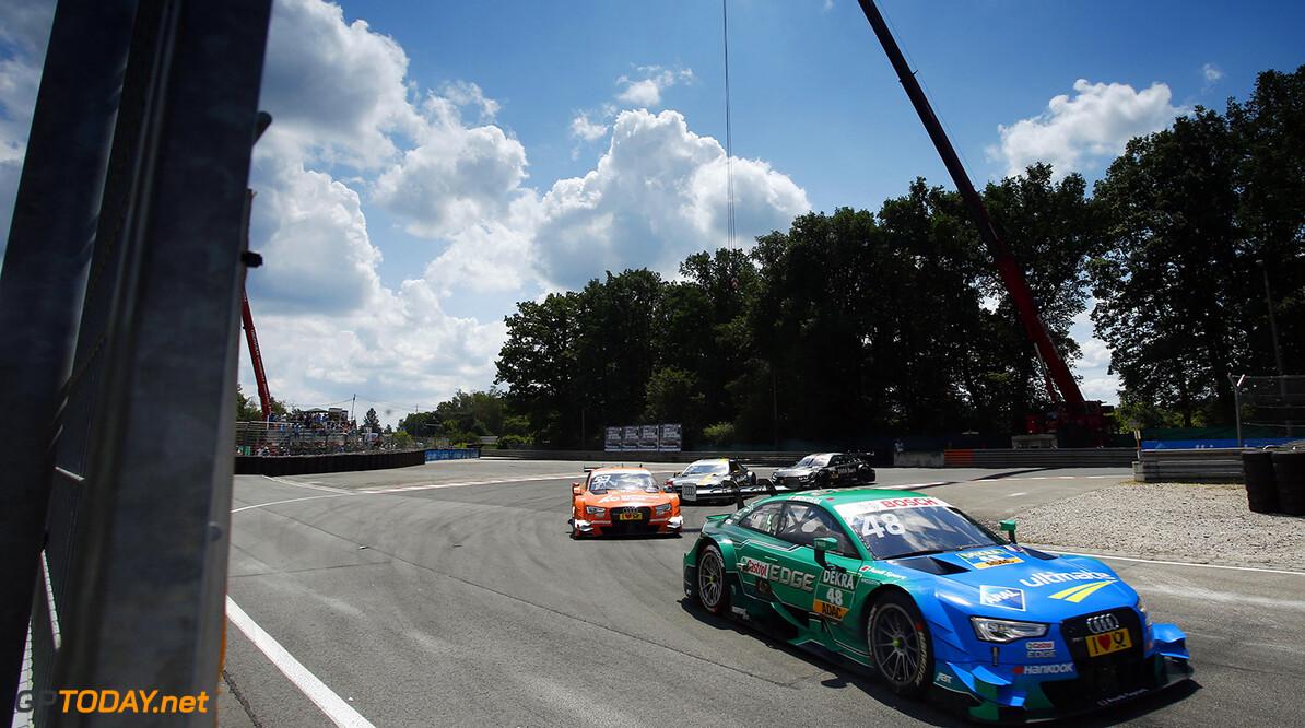 #48 Edoardo Mortara, Audi RS5 DTM, #53 Jamie Green, Audi RS5 DTM, #3 Paul Di Resta, Mercedes-AMG C 63 DTM