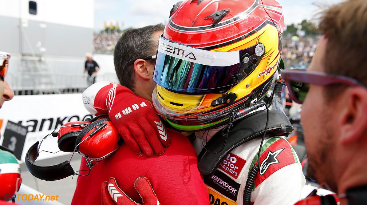 FIA Formula 3 European Championship, round 5, race 3, Norisring  1 Lance Stroll (CAN, Prema Powerteam, Dallara F312 - Mercedes-Benz), FIA Formula 3 European Championship, round 5, race 3, Norisring (DEU), 24. - 26. June 2016 FIA Formula 3 European Championship 2016, round 5, race 3, Norisring (DEU) Thomas Suer N?rnberg Germany