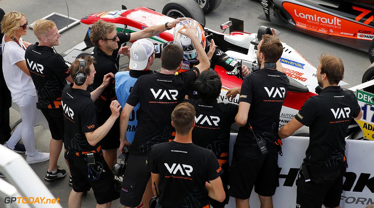 FIA Formula 3 European Championship, round 5, race 2, Norisring  21 Anthoine Hubert (FRA, Van Amersfoort Racing, Dallara F312 - Mercedes-Benz), FIA Formula 3 European Championship, round 5, race 2, Norisring (DEU), 24. - 26. June 2016 FIA Formula 3 European Championship 2016, round 5, race 2, Norisring (DEU) Thomas Suer N?rnberg Germany