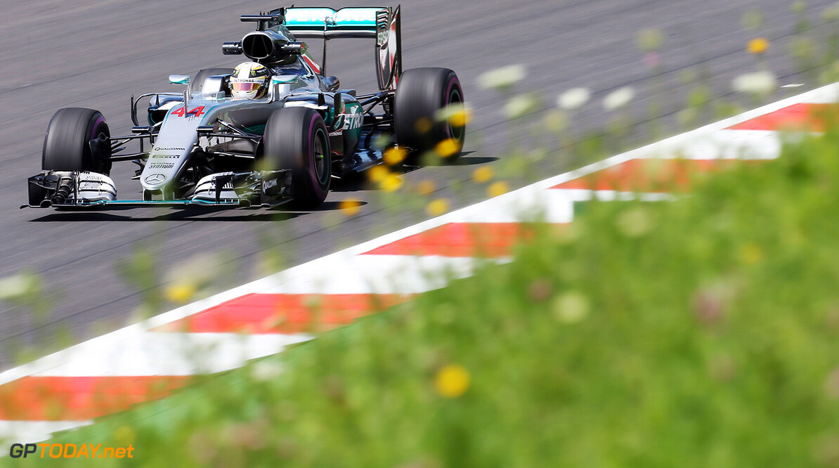 Lewis Hamilton positive after Friday performance