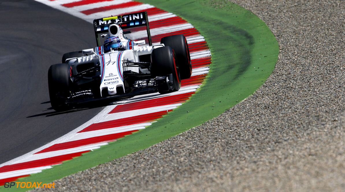 Red Bull Ring, Spielberg, Austria. Friday 1 July 2016. Valtteri Bottas, Williams FW38 Mercedes. Photo: Glenn Dunbar/Williams ref: Digital Image _W2Q9685      Action