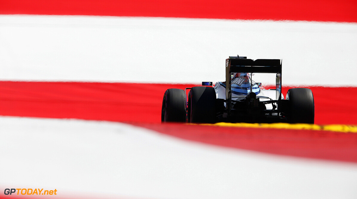Red Bull Ring, Spielberg, Austria. Friday 1 July 2016. Felipe Massa, Williams FW38 Mercedes. Photo: Steven Tee/Williams ref: Digital Image _X0W2433  Steven Tee    Action
