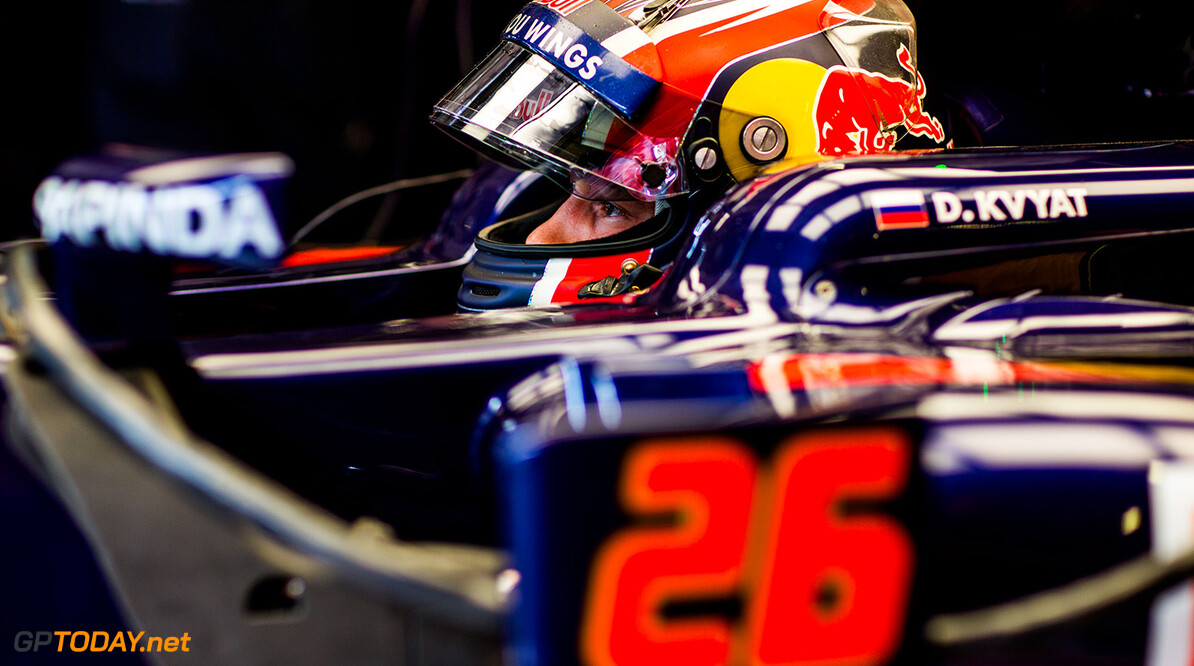 SPIELBERG, AUSTRIA - JULY 01:  Daniil Kvyat of Scuderia Toro Rosso and Russia during practice for the Formula One Grand Prix of Austria at Red Bull Ring on July 1, 2016 in Spielberg, Austria.  (Photo by Peter Fox/Getty Images) // Getty Images / Red Bull Content Pool  // P-20160701-00841 // Usage for editorial use only // Please go to www.redbullcontentpool.com for further information. //  F1 Grand Prix of Austria - Practice Peter Fox Red Bull Ring Austria  P-20160701-00841