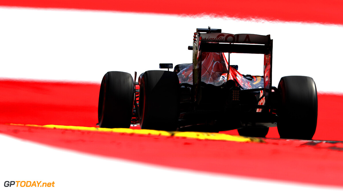 SPIELBERG, AUSTRIA - JULY 01: Daniil Kvyat of Russia driving the (26) Scuderia Toro Rosso STR11 Ferrari 060/5 turbo on track during practice for the Formula One Grand Prix of Austria at Red Bull Ring on July 1, 2016 in Spielberg, Austria.  (Photo by Mark Thompson/Getty Images) // Getty Images / Red Bull Content Pool  // P-20160701-01577 // Usage for editorial use only // Please go to www.redbullcontentpool.com for further information. //  F1 Grand Prix of Austria - Practice Mark Thompson Red Bull Ring Austria  P-20160701-01577