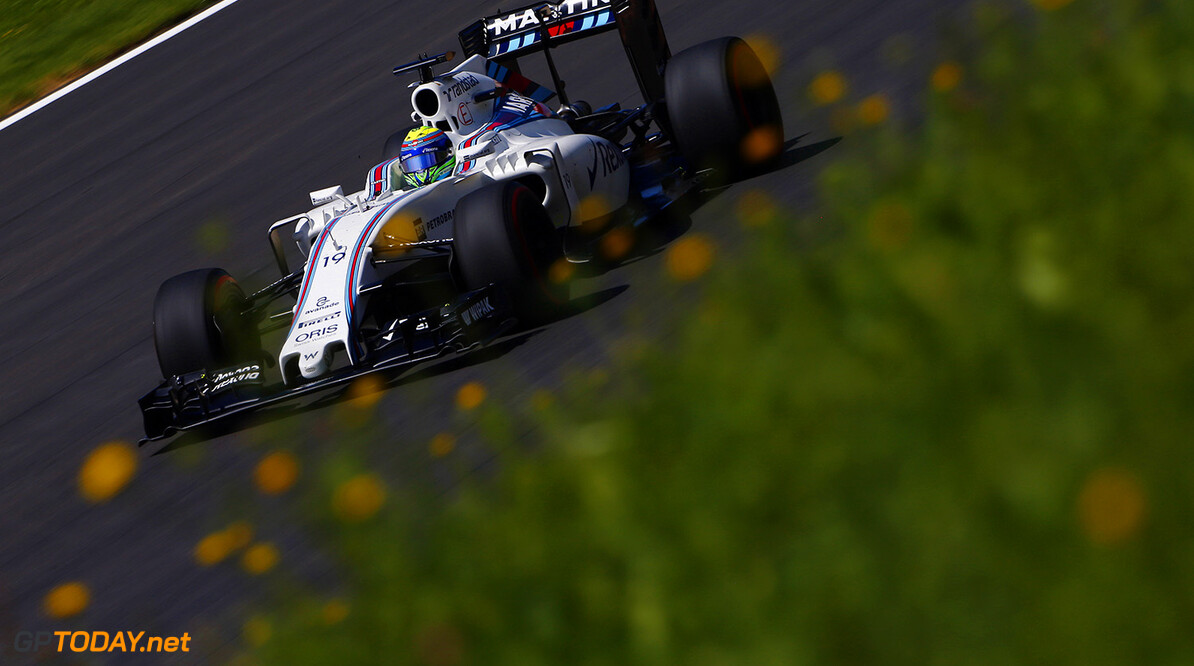 Red Bull Ring, Spielberg, Austria. Friday 1 July 2016. Felipe Massa, Williams FW38 Mercedes. Photo: Andrew Hone/Williams ref: Digital Image _ONZ4474      Action