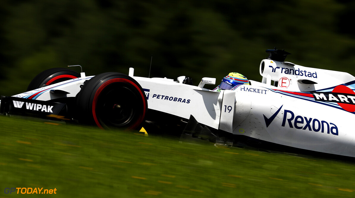 Red Bull Ring, Spielberg, Austria. Friday 1 July 2016. Felipe Massa, Williams FW38 Mercedes. Photo: Glenn Dunbar/Williams ref: Digital Image _V2I6896      Action