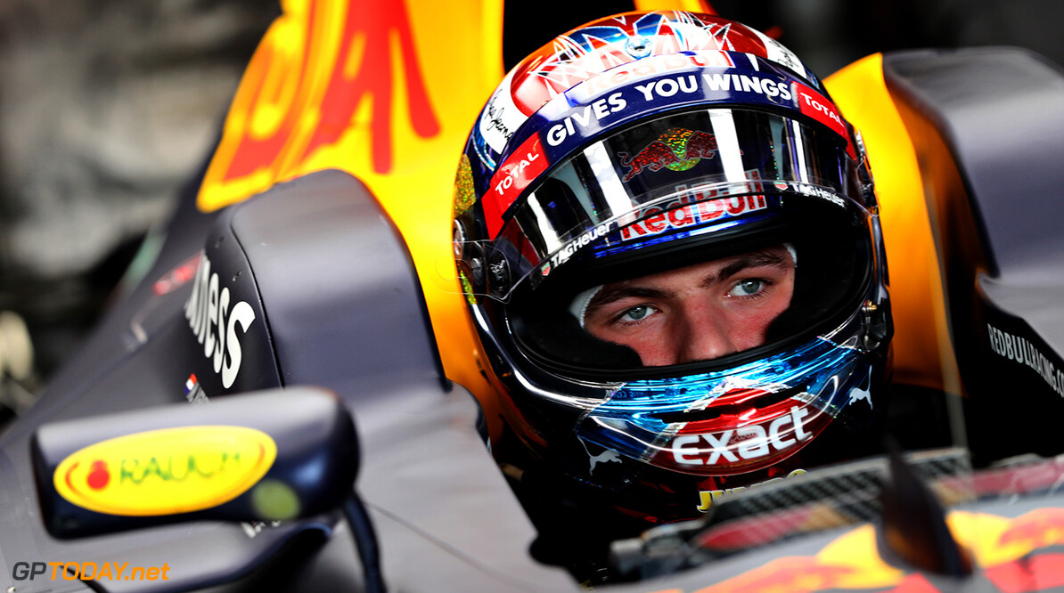 SPIELBERG, AUSTRIA - JULY 01: Max Verstappen of Netherlands and Red Bull Racing sits in his car in the garage during practice for the Formula One Grand Prix of Austria at Red Bull Ring on July 1, 2016 in Spielberg, Austria.  (Photo by Mark Thompson/Getty Images) // Getty Images / Red Bull Content Pool  // P-20160701-00350 // Usage for editorial use only // Please go to www.redbullcontentpool.com for further information. //  F1 Grand Prix of Austria - Practice Mark Thompson Spielberg Germany  P-20160701-00350