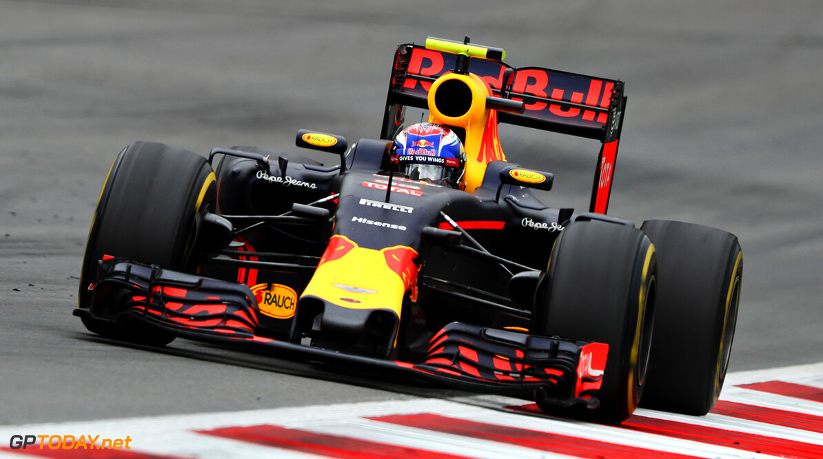 SPIELBERG, AUSTRIA - JULY 03: Max Verstappen of the Netherlands driving the (33) Red Bull Racing Red Bull-TAG Heuer RB12 TAG Heuer on track during the Formula One Grand Prix of Austria at Red Bull Ring on July 3, 2016 in Spielberg, Austria.  (Photo by Mark Thompson/Getty Images) // Getty Images / Red Bull Content Pool  // P-20160703-01965 // Usage for editorial use only // Please go to www.redbullcontentpool.com for further information. //  F1 Grand Prix of Austria Mark Thompson Spielberg Germany  P-20160703-01965