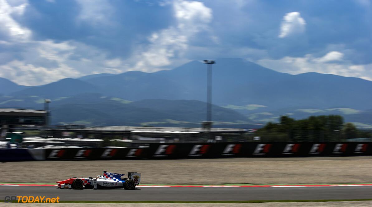 2016 GP2 Series Round 4 Red Bull Ring, Spielberg, Austria. Friday 1 July 2016. Oliver Rowland (GBR, MP Motorsport)  Photo: Sam Bloxham/GP2 Series Media Service. ref: Digital Image _SLA6236  Sam Bloxham    Practice action
