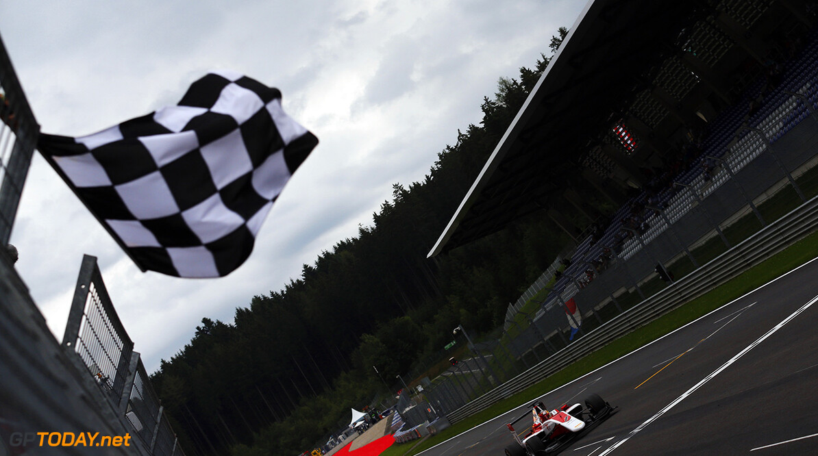 Charles Leclerc (FRA, ART Grand Prix) wins the feature race at the Austrian GP