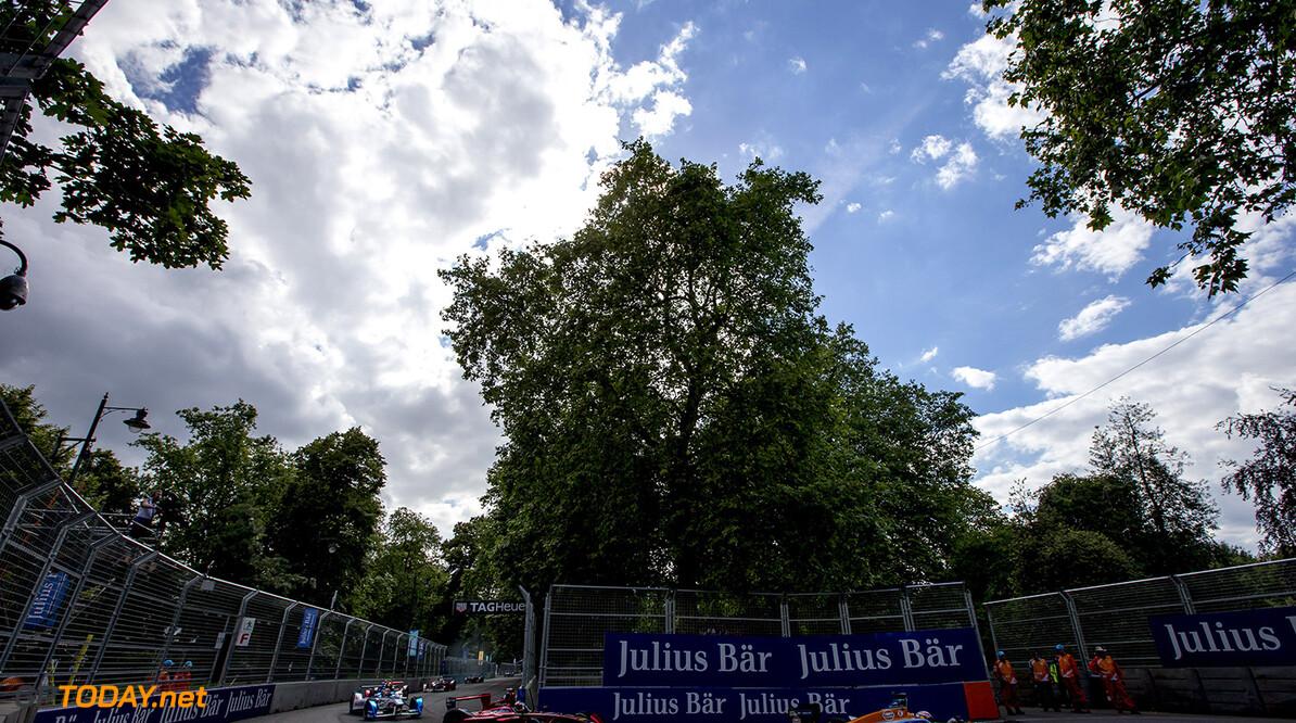 2015/2016 FIA Formula E Championship. London ePrix, Battersea Park, London, United Kingdom. Sunday 3 July 2016. Antonio Felix da Costa (POR), Team Aguri - Spark SRT_01E  Photo: Zak Mauger/LAT/Formula E ref: Digital Image _79P2605  Zak Mauger    fe formula e action