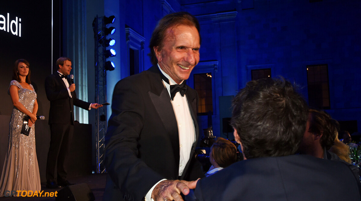 - LONDON, ENGLAND - JULY 03:  Emerson Fittipaldi attends the 2016 FIA Formula E Visa London ePrix gala dinner at The British Museum on July 3, 2016 in London, England.    Pic Credit: Dave Benett 2016 FIA Formula E Visa London ePrix - Gala Dinner Dave Benett London United Kingdom