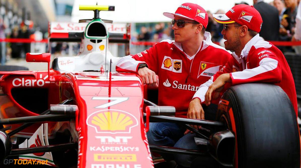 Vettel maakte zich hard voor behoud Raikkonen