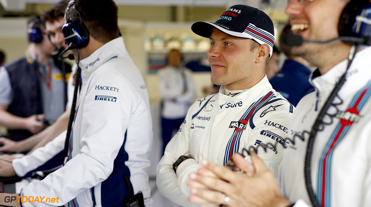 Silverstone, Northamptonshire, UK. Friday 8 July 2016. Valtteri Bottas, Williams Martini Racing. Photo: Glenn Dunbar/Williams ref: Digital Image _V2I5564      Portrait