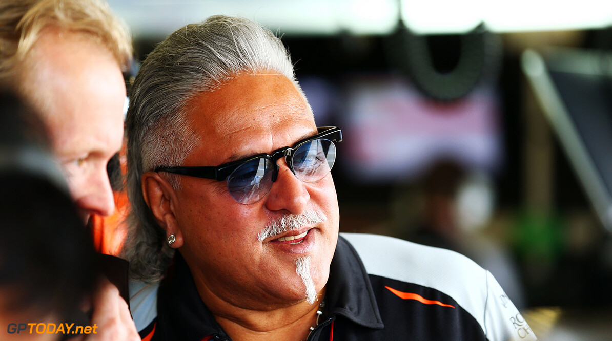 Formula One World Championship Dr. Vijay Mallya (IND) Sahara Force India F1 Team Owner. British Grand Prix, Friday 8th July 2016. Silverstone, England. Motor Racing - Formula One World Championship - British Grand Prix - Practice Day - Silverstone, England James Moy Photography Silverstone England  Formula One Formula 1 F1 GP Grand Prix Circuit Britain British England UK United Kingdom Silverstone JM595 Portrait GP1610b