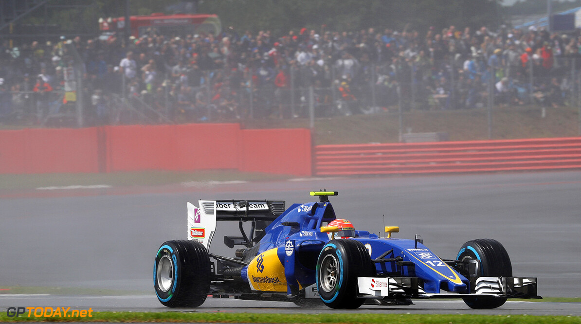 British GP Race 10/07/16 Felipe Nasr (BRA), Sauber F1 Team.  Silverstone Circuit.  British GP Race 10/07/16 Jad Sherif                       Silverstone Great Britain  F1 Formula 1 One 2016 UK England Action Nasr Sauber