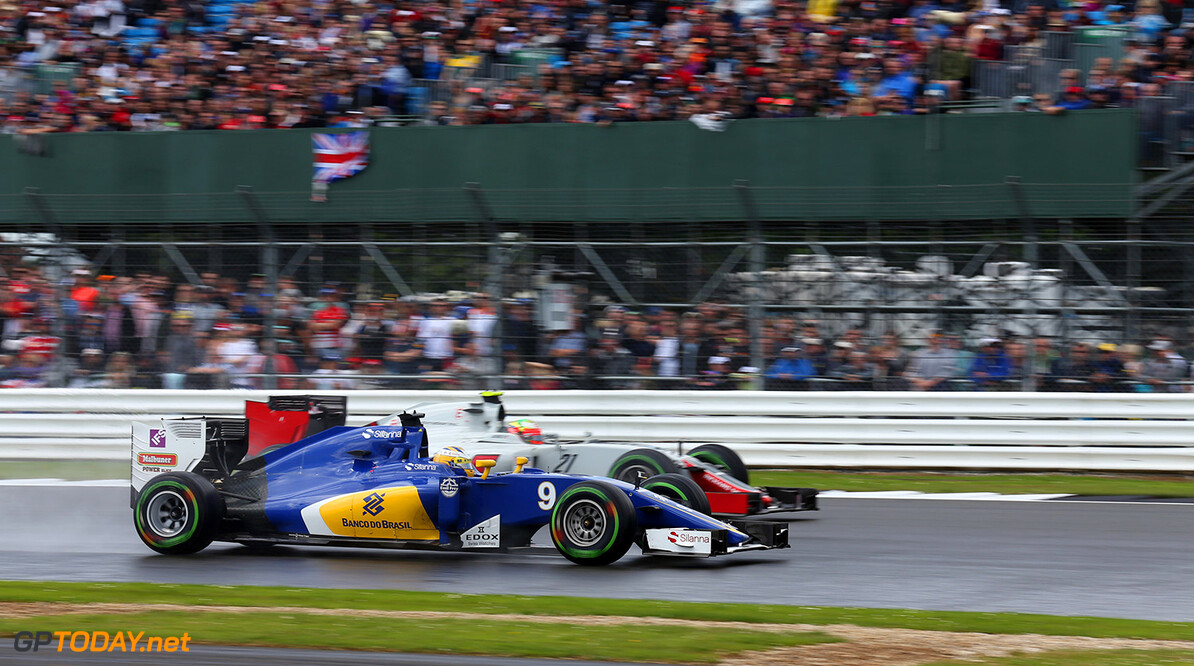 British GP Race 10/07/16 Marcus Ericsson (SWE) Sauber F1 Team.  Silverstone Circuit.  British GP Race 10/07/16 Jad Sherif                       Silverstone Great Britain  F1 Formula 1 One 2016 UK England Action Ericsson Sauber