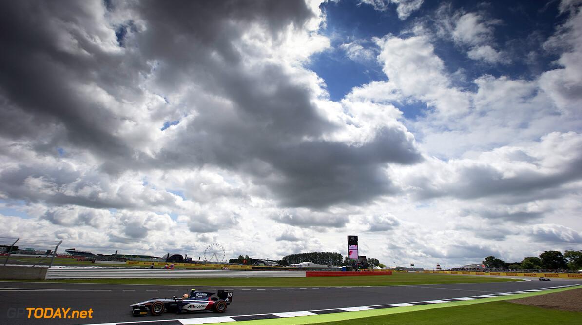 2016 GP2 Series Round 5 Silverstone, Northamptonshire, UK. Friday 8 July 2016. Artem Markelov (RUS, RUSSIAN TIME)  Photo: Sam Bloxham/GP2 Series Media Service. ref: Digital Image _SLA2398  Sam Bloxham    Practice Action