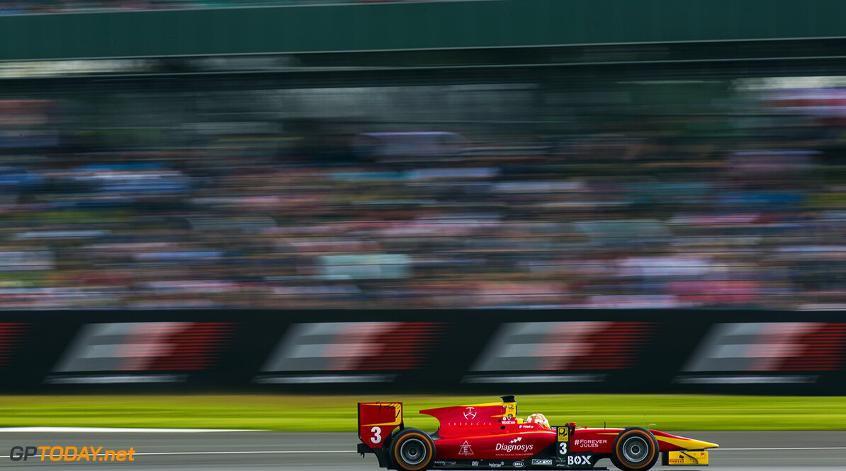 2016 GP2 Series Round 5 Silverstone, Northamptonshire, UK. Saturday 9 July 2016. Norman Nato (FRA, Racing Engineering)  Photo: Sam Bloxham/GP2 Series Media Service. ref: Digital Image _SBB1571  Sam Bloxham    Race One Feature action