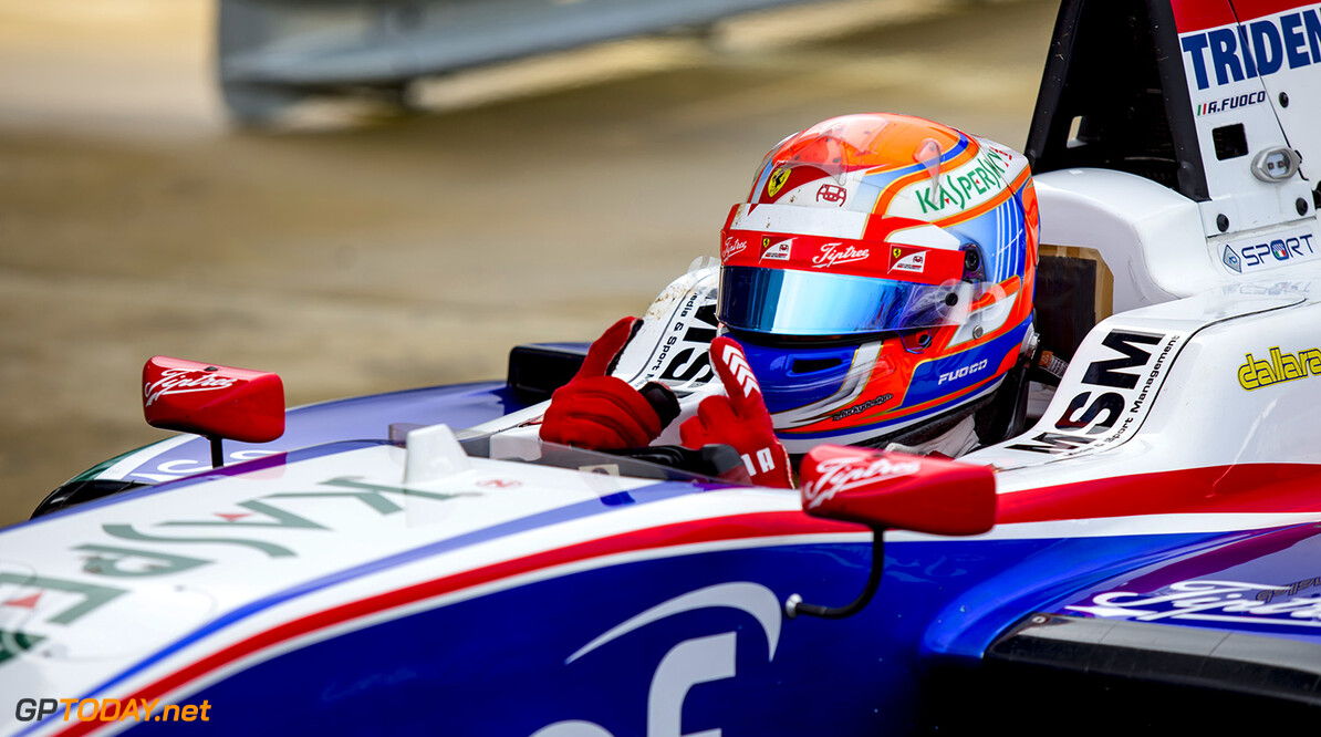 Antonio Fuoco wins GP3 sprint race