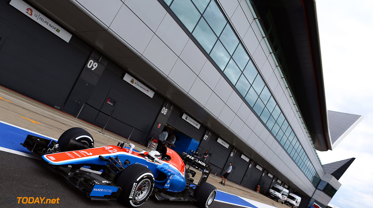 Formula One World Championship Jordan King (GBR) Manor Racing MRT MRT05  13.07.2016. Formula One In-Season Testing, Day Two, Silverstone, England. Wednesday. - www.xpbimages.com, EMail: requests@xpbimages.com - copy of publication required for printed pictures. Every used picture is fee-liable. (C) Copyright: Batchelor / XPB Images Motor Racing - Formula One Testing - In-Season Test - Day 2 -  Silverstone, England xpb.cc Silverstone England  Formel1 Formel F1 Formula 1 Formula1 one Circuit Silverstone England Britain British United Kingdom UK Testing Test In Season In-Season 13 07 7 2016 Wednesday Action Track
