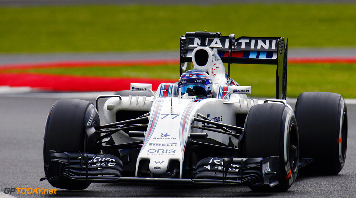 Silverstone, Northamptonshire, UK. Wednesday 13 July 2016. Valtteri Bottas, Williams FW38 Mercedes. Photo: Zak Mauger/Wiliams F1 ref: Digital Image _79P1264  Zak Mauger    f1 formula 1 formula one gb great britain test testing action