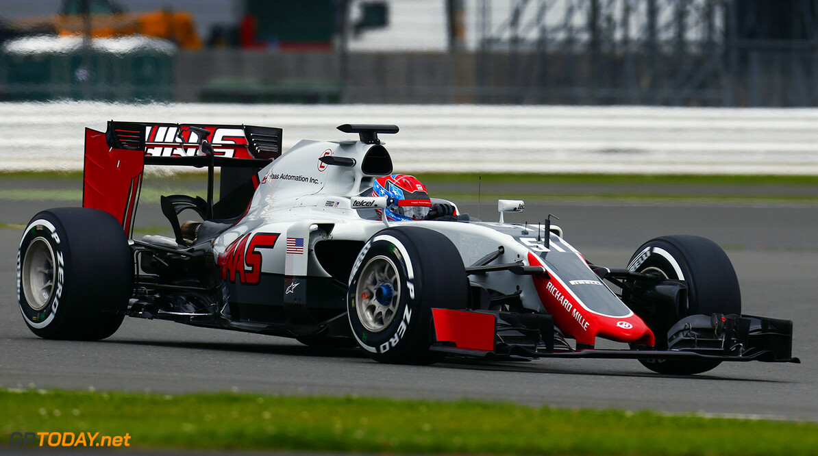Silverstone, Northamptonshire, UK. Tuesday 12 July 2016. Santino Ferrucci, Test and Reserve Driver, Haas F1.  World Copyright: Zak Mauger/LAT Photographic ref: Digital Image _L0U6549  Zak Mauger    f1, formula 1, formula one, gb, great, britain, test, testing,  ts-live,,,,,,,