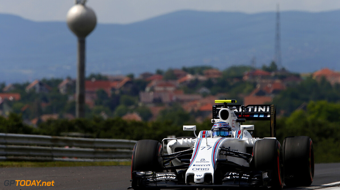 Hungaroring, Budapest, Hungary. Friday 22 July 2016. Valtteri Bottas, Williams FW38 Mercedes. Photo: Glenn Dunbar/Williams ref: Digital Image _W2Q6321      Action