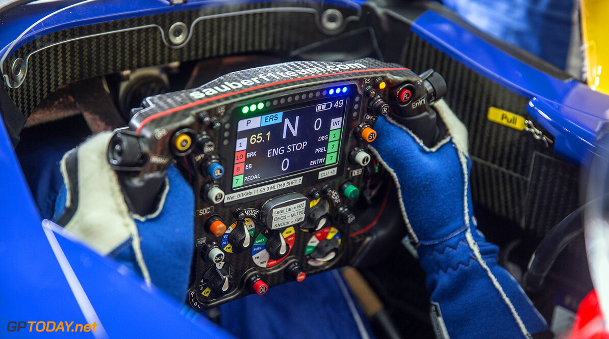 <b>Video:</b> The evolution of the F1 steering wheel