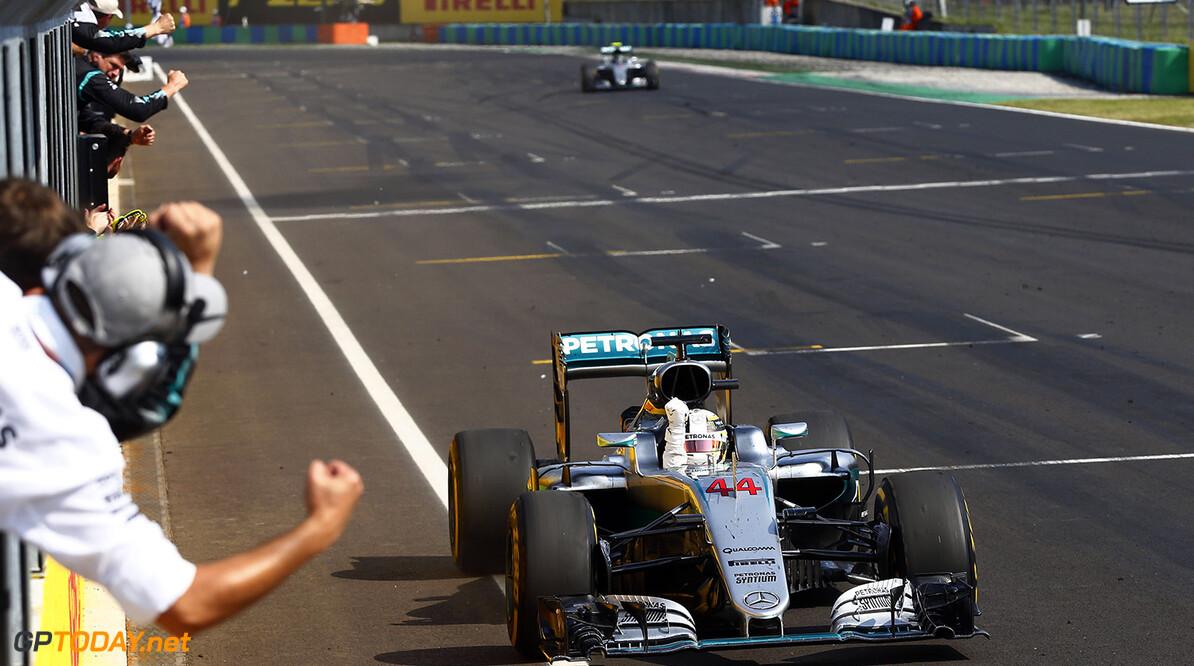 Archivnummer: M37743 Grosser Preis von Ungarn 2016, Sonntag 2016 Hungarian Grand Prix, Sunday Wolfgang Wilhelm Budapest Ungarn  Ungarn Grand Prix Sonntag Lewis Hamilton 2016 Hungaroring