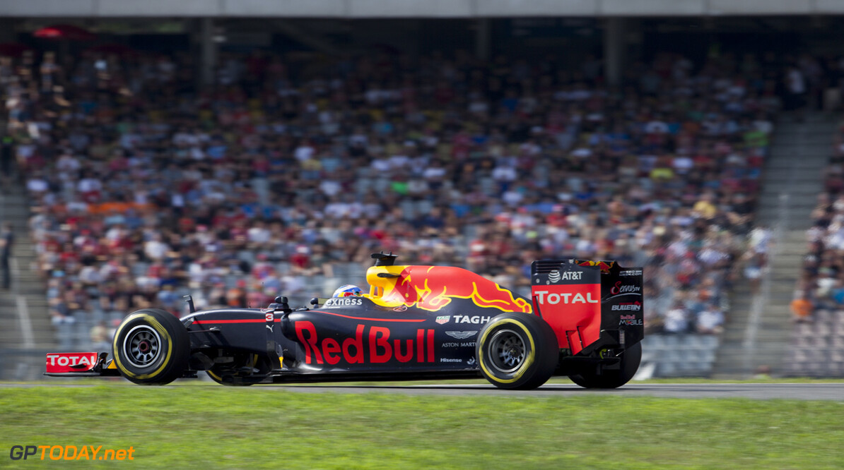 Photo credits are committed Hockenheim Germany  Max Verstappen Formula one Formule1 GP country Red Bull Racing F1