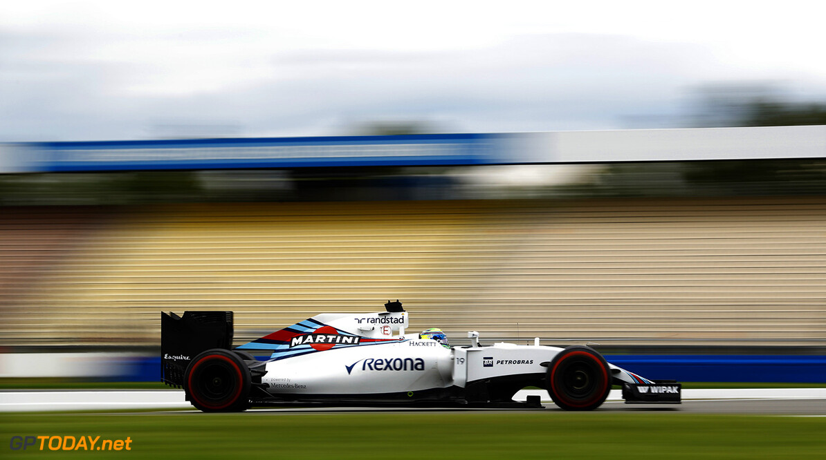 Hockenheim, Germany. Friday 29 July 2016. Felipe Massa, Williams FW38 Mercedes. Photo: Steven Tee/Williams ref: Digital Image _H7I7202      Action