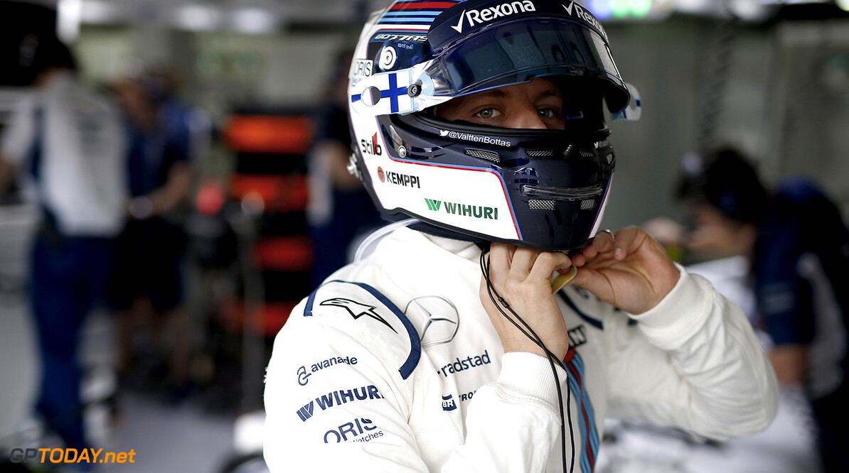 Hockenheim, Germany. Friday 29 July 2016. Valtteri Bottas, Williams Martini Racing. Photo: Glenn Dunbar/Williams ref: Digital Image _W2Q9991      Portrait Helmets