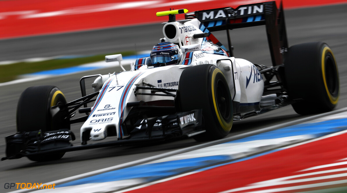Hockenheim, Germany. Friday 29 July 2016. Valtteri Bottas, Williams FW38 Mercedes. Photo: Glenn Dunbar/Williams ref: Digital Image _V2I0710      Action