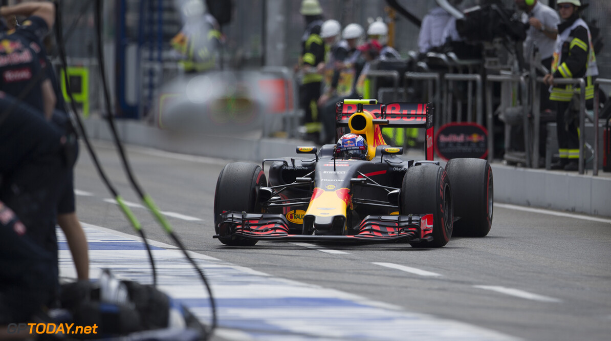 Max Verstappen (NED) Max Verstappen (NED), #33, Red Bull Racing, German Grand Prix, Formula 1, Round 12, 2016,  Hockenheimring Hockenheim, Germany. Max Verstappen (NED) Photo credits are committed Hockenheim Germany  Max Verstappen Formula one Formule1 GP country Red Bull Racing F1