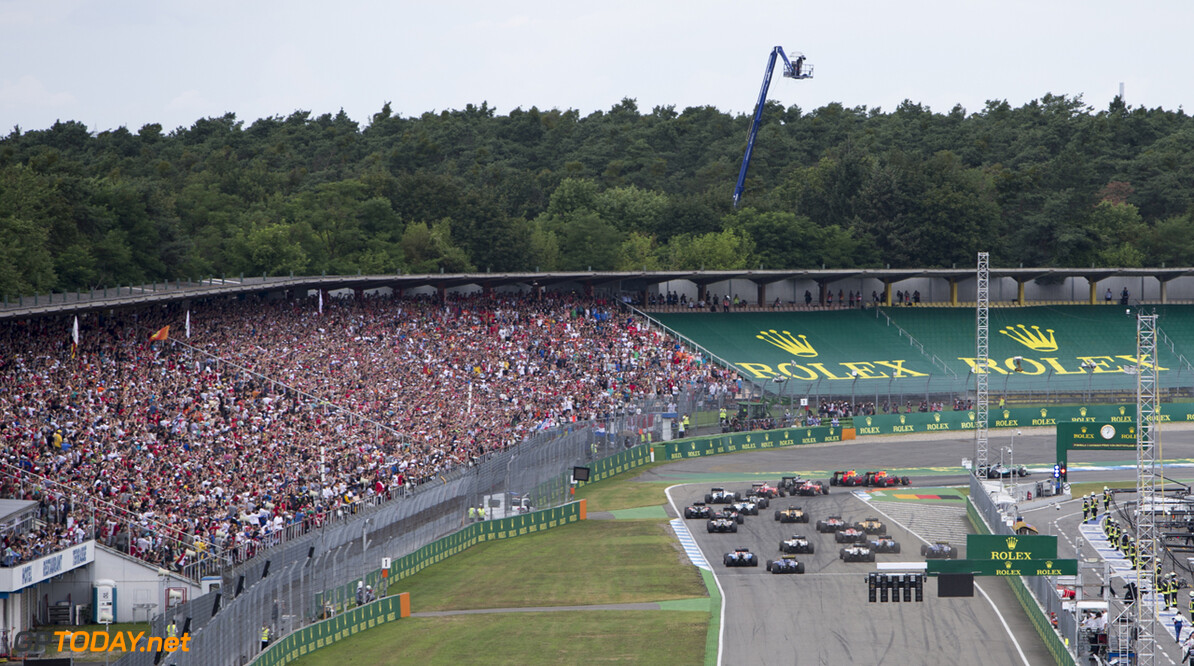 Photo credits are committed Hockenheim Germany  Formula one Formule1 GP country