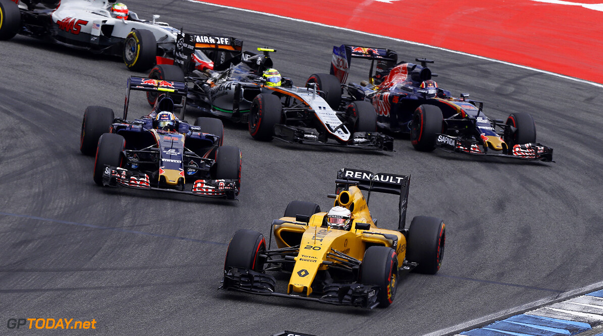 20 MAGNUSSEN Kevin (dnk) Renault action during the 2016 Formula One World Championship, Germany Grand Prix from July 29 to 31, in Hockenheim, Germany - Photo DPPI F1 - GRAND PRIX OF GERMANY 2016 DPPI Hockenheim Allemagne  allemagne auto car f1 formula 1 formula one formule 1 formule un grand prix juillet july motorsport race world championship