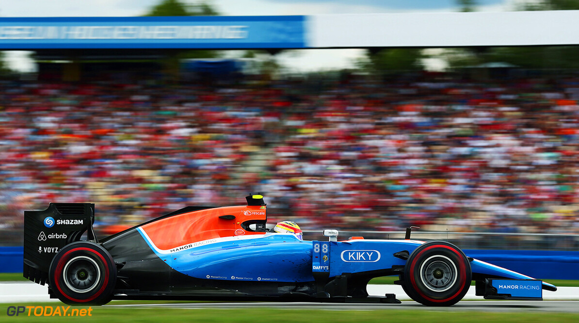 Formula One World Championship Rio Haryanto (IDN) Manor Racing MRT05. 31.07.2016. Formula 1 World Championship, Rd 12, German Grand Prix, Hockenheim, Germany, Race Day. Motor Racing - Formula One World Championship - German Grand Prix - Race Day - Hockenheim, Germany Manor Racing Hockenheim Germany  Formel1 Formel F1 Formula 1 Formula1 GP Grand Prix one Circuit July German Germany Hockenheim Hockenheimring Sunday 31 07 7 2016 Action Track