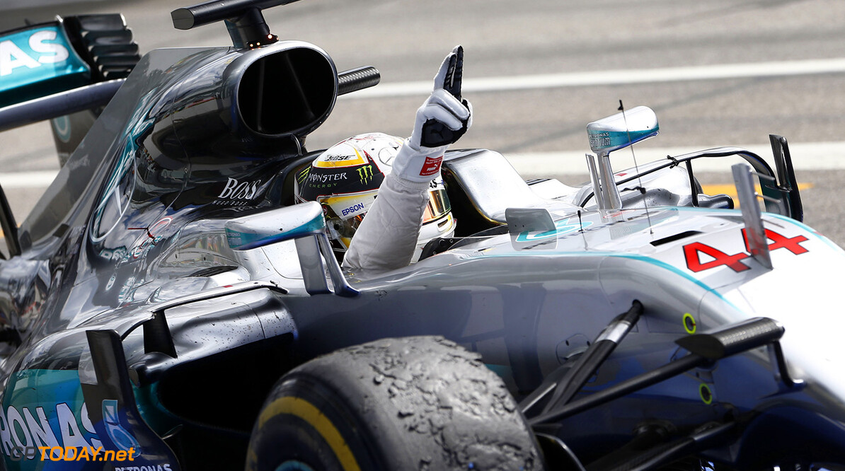 Lewis Hamilton elated with 50th career win