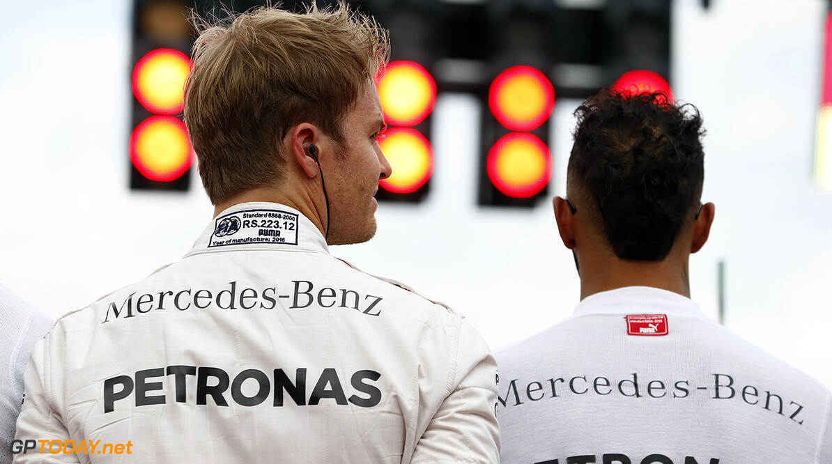 "Mercedes rivals talk of ""respect"" ahead of title showdown"