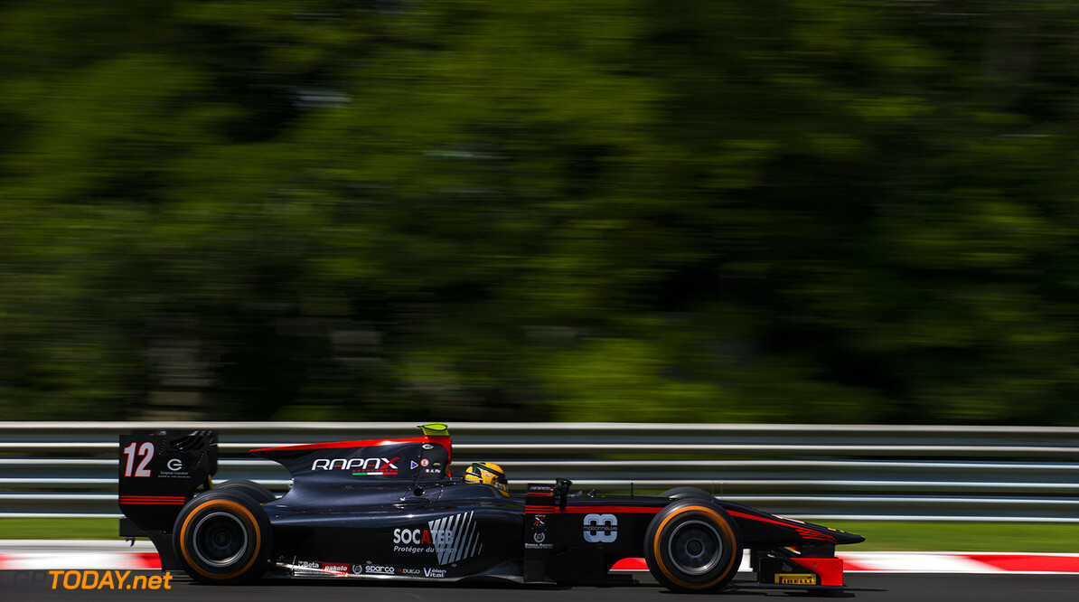 2016 GP2 Series Round 6 Hungaroring, Budapest, Hungary. Friday 22 July 2016. Arthur Pic (FRA, Rapax)  Photo: Sam Bloxham/GP2 Series Media Service. ref: Digital Image _SLA6085  Sam Bloxham    Practice action
