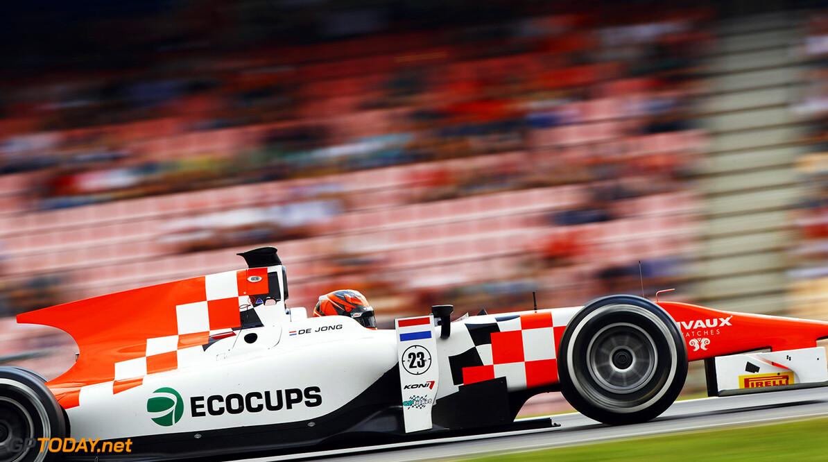 Daniel de Jong (NED, MP Motorsport)  2016 GP2 Series Round 7 Hockenheim, Germany Sunday 31 July 2016  Photo: /GP2 Series Media Service ref: Digital Image _ONY9545      race