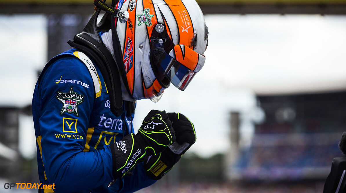 2016 GP2 Series Round 7 Hockenheimring, Hockenheim, Germany Sunday 31 July 2016. Alex Lynn, (GBR, DAMS)  Photo: Sam Bloxham/GP2 Series Media Service. ref: Digital Image _SBB2372  Sam Bloxham    Race Two portrait
