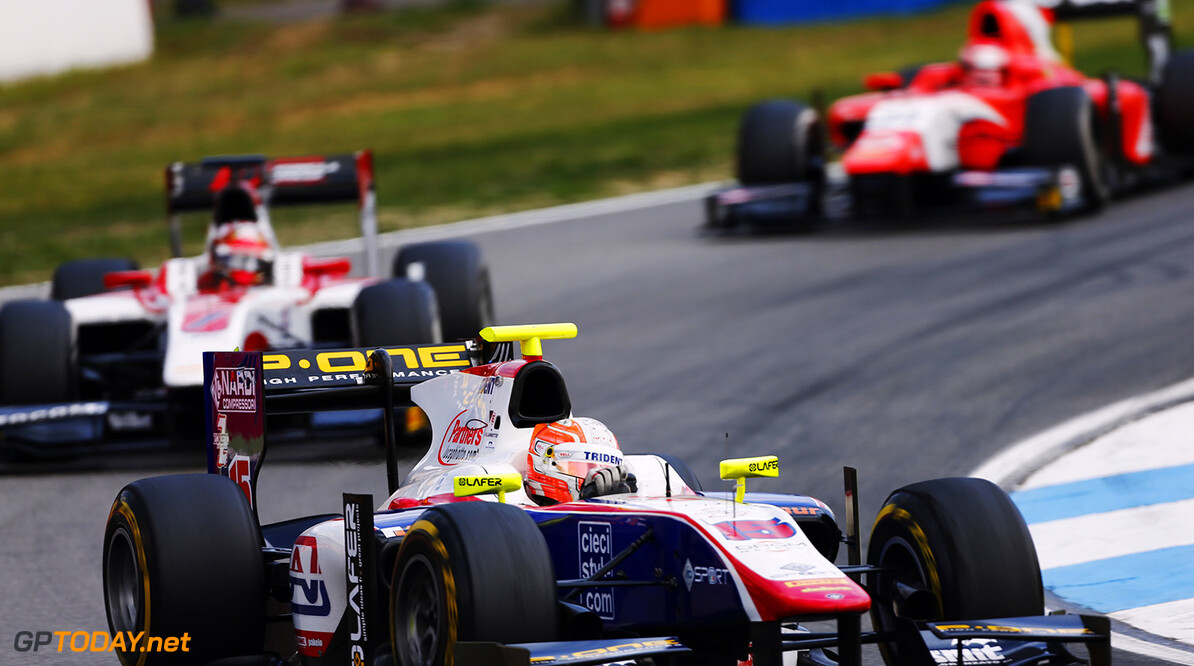 Luca Ghiotto wins maiden GP2 race