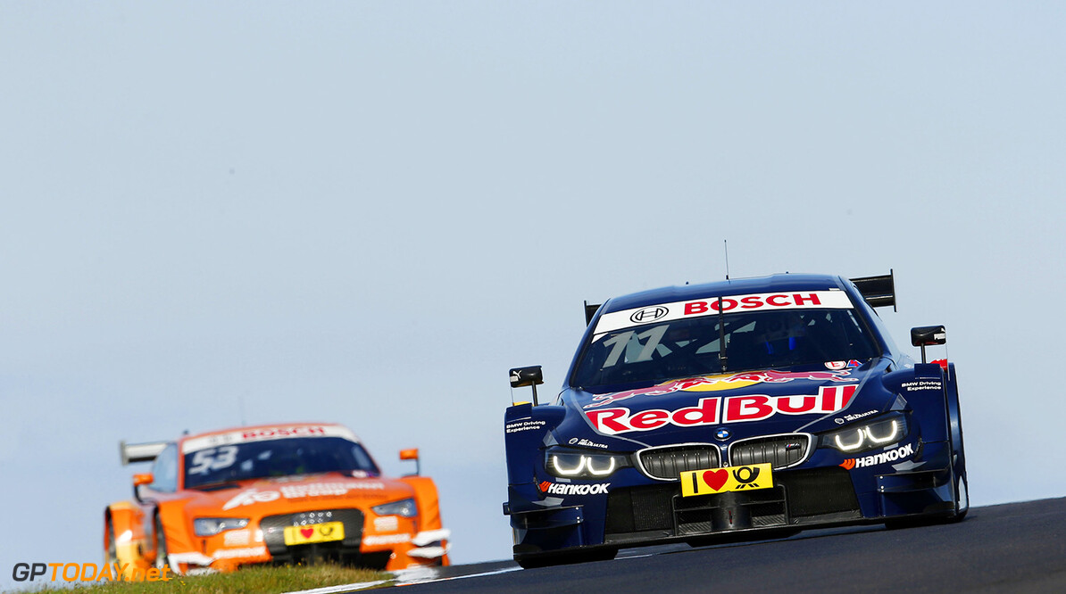 #11 Marco Wittmann; BMW M4 DTM; #53 Jamie Green; Audi RS5 DTM
