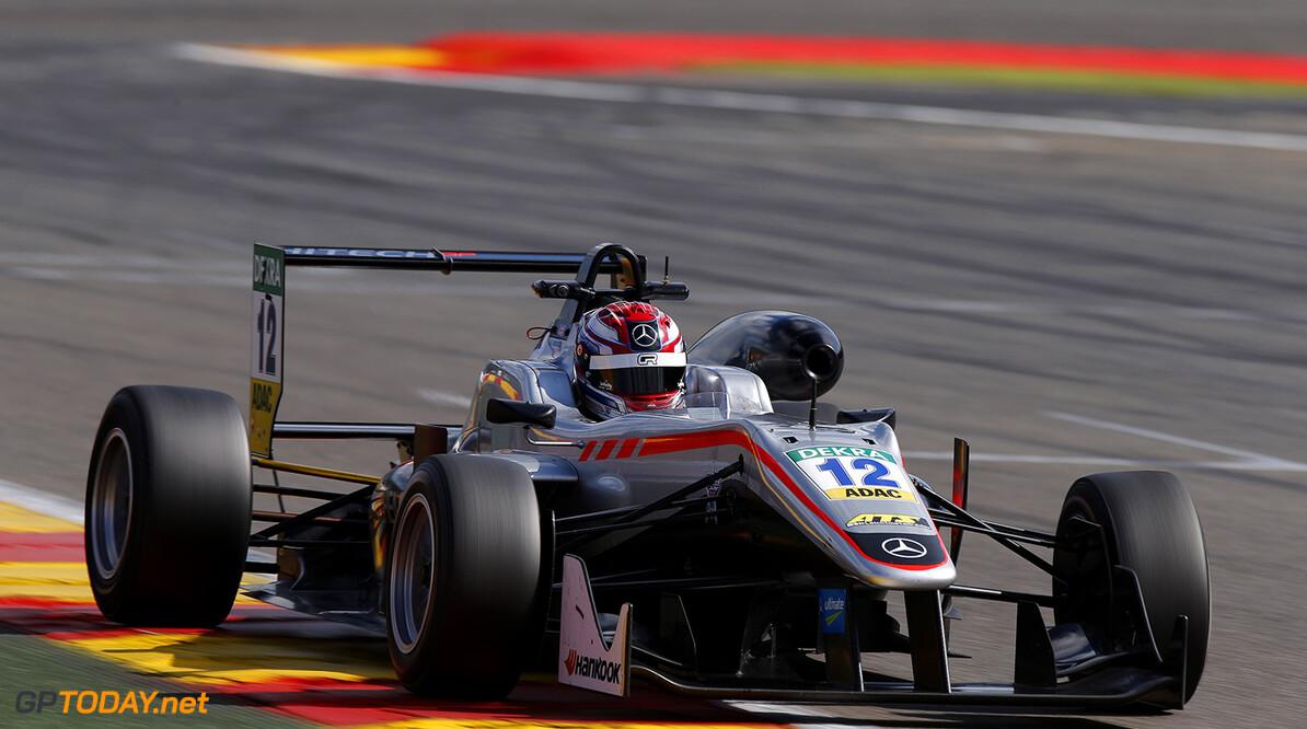 FIA Formula 3 European Championship, round 7, race 2, Spa-Franco 12 George Russell (GBR, HitechGP, Dallara F312 - Mercedes-Benz), FIA Formula 3 European Championship, round 7, race 2, Spa-Francorchamps (BEL), 28. - 30. July 2016 FIA Formula 3 European Championship 2016, round 7, race 2, Spa-Francorchamps (BEL) Thomas Suer Spa-Francorchamps Belgium