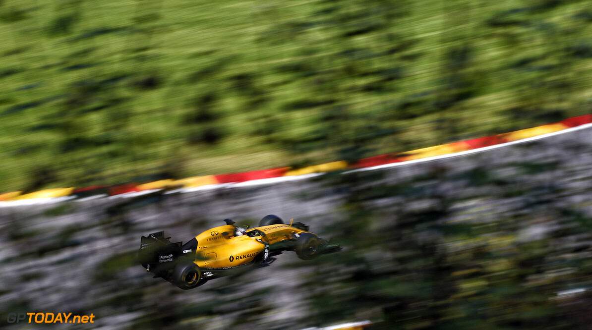 20 MAGNUSSEN Kevin (dnk) Renault RS16 action during the 2016 Formula One World Championship, Belgium Grand Prix from August 26 to 28 in Spa -Francorchamps, Belgium - Photo Frederic Le Floc'h / DPPI F1 - GRAND PRIX OF BELGIUM 2016 Frederic Le Floc'h Spa-Francorchamps Belgique  aout august auto belgique car f1 formula 1 formula one formule 1 formule un grand prix motorsport race world championship