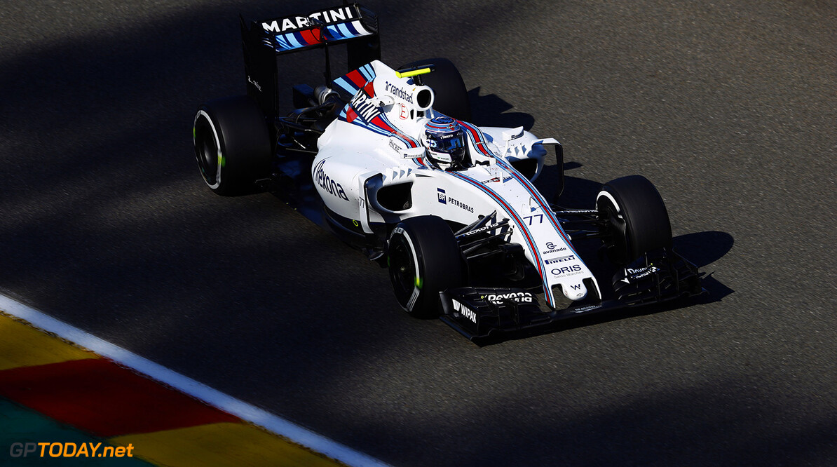 Spa-Francorchamps, Spa, Belgium.. Friday 26 August 2016. Valtteri Bottas, Williams FW38 Mercedes. Photo: Steven Tee/Williams ref: Digital Image _R3I1076  Steven Tee    Action